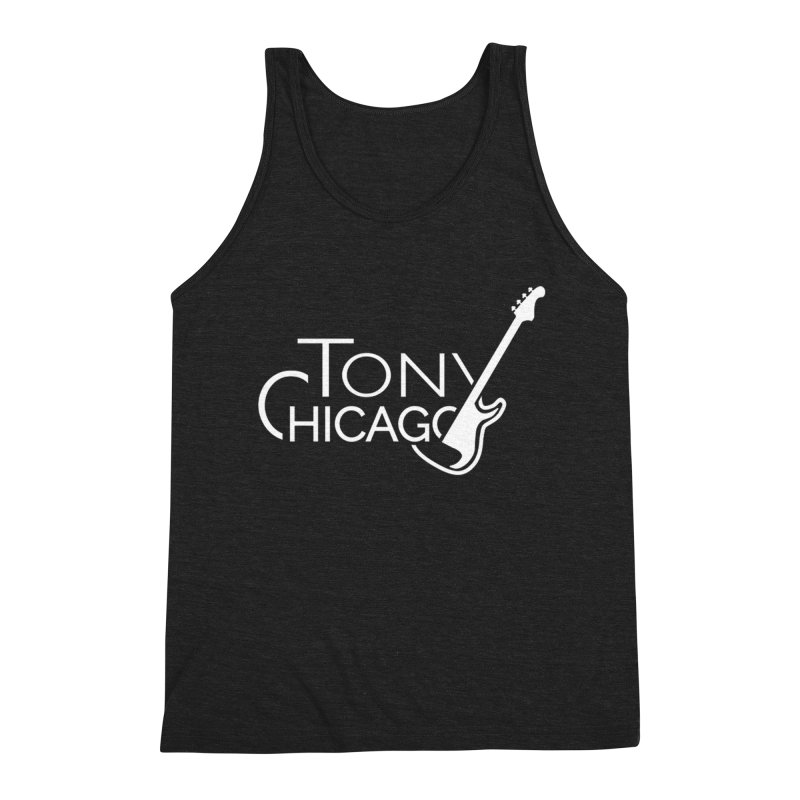 CHICAGO CHILLING Men's Triblend Tank by TONYCHICAGO 's Artist Shop