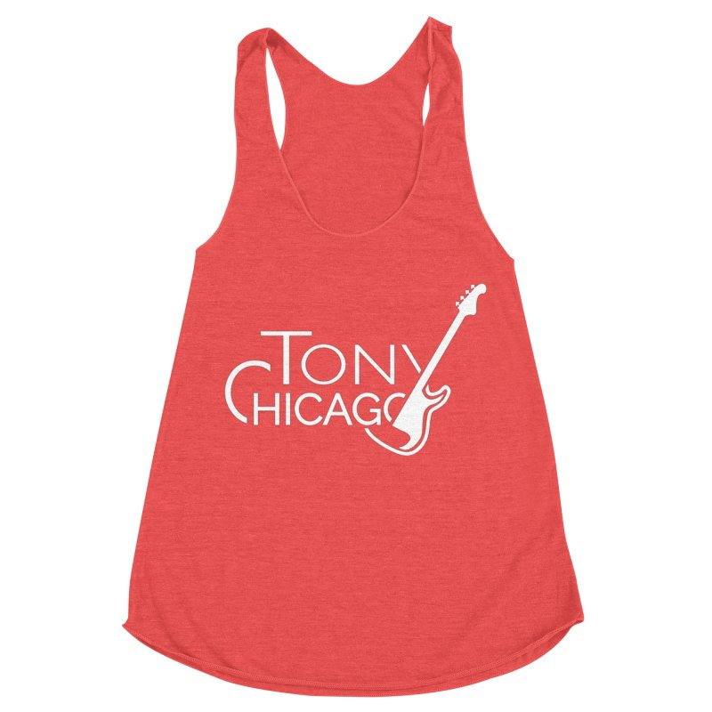 CHICAGO CHILLING Women's Racerback Triblend Tank by TONYCHICAGO 's Artist Shop