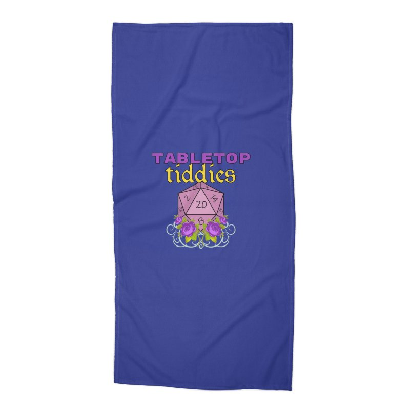 TableTop Tiddies Design Accessories Beach Towel by TabletopTiddies's Merch