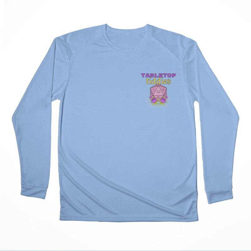 Small Pocket Logo Feminine Longsleeve T-Shirt by TabletopTiddies's Merch