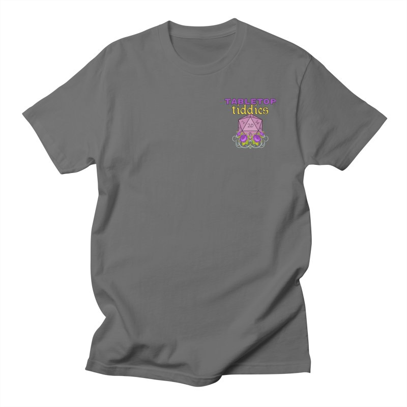 Small Pocket Logo Unisex T-Shirt by TabletopTiddies's Merch