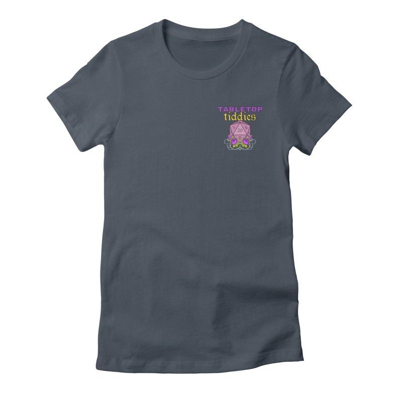 Small Pocket Logo Feminine T-Shirt by TabletopTiddies's Merch
