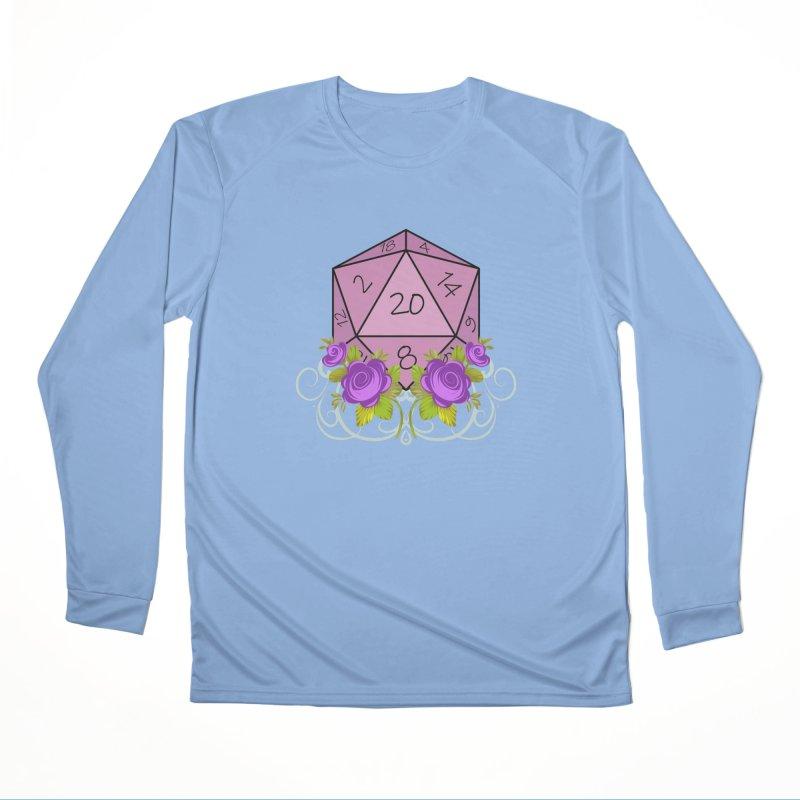 D20 Logo Feminine Longsleeve T-Shirt by TabletopTiddies's Merch