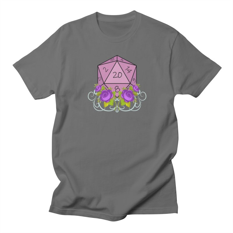 D20 Logo Men's T-Shirt by TabletopTiddies's Merch