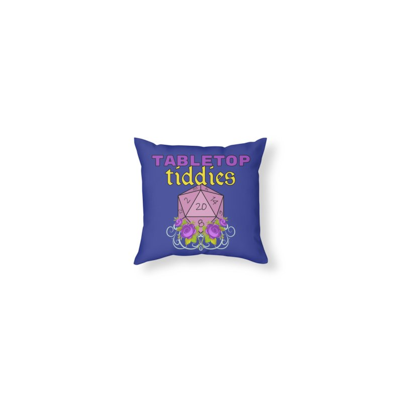 Pillow Home Throw Pillow by TabletopTiddies's Merch