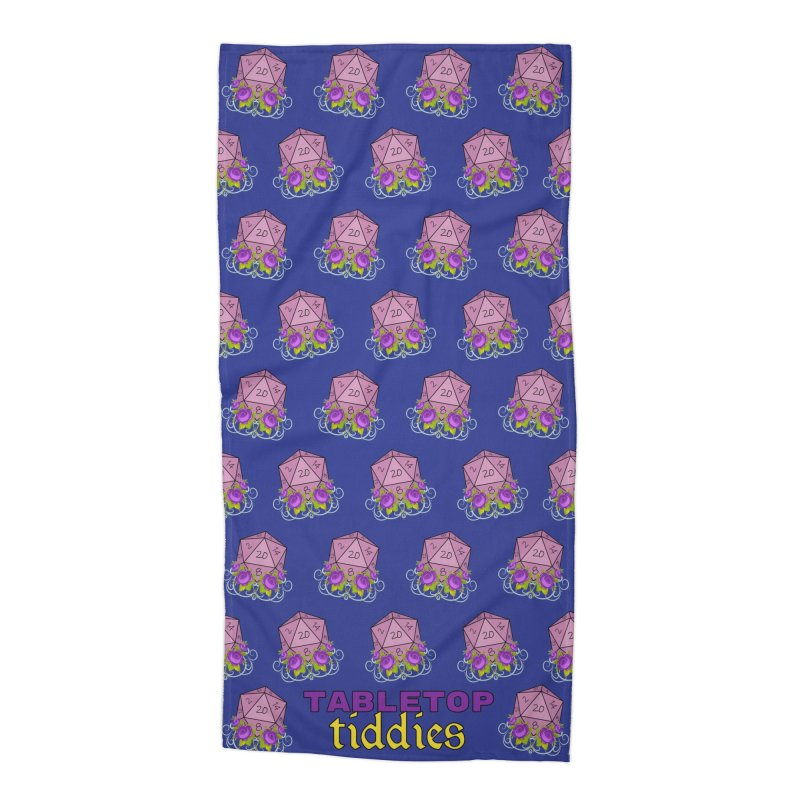 Towel Accessories Beach Towel by TabletopTiddies's Merch