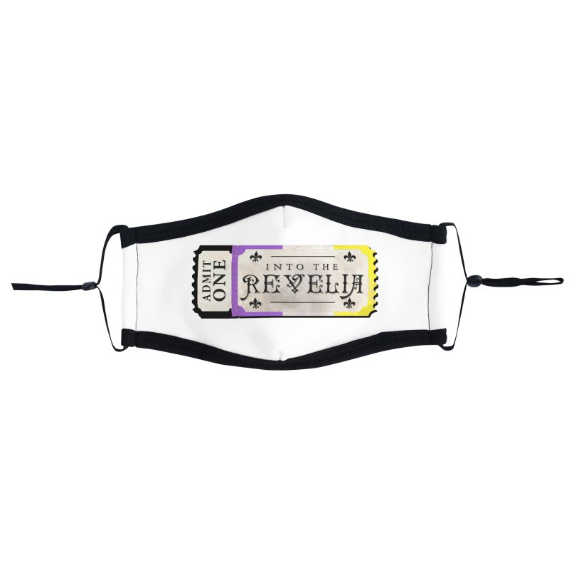 Into The Revelia - NON-BINARY Accessories Face Mask by TabletopTiddies's Merch