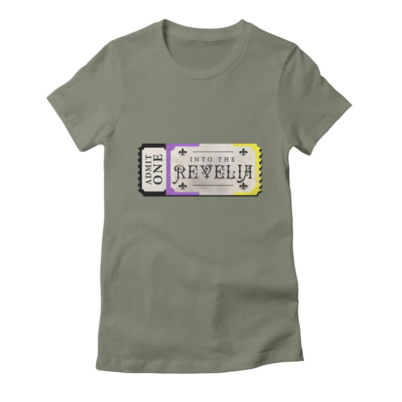 Into The Revelia - NON-BINARY Feminine T-Shirt by TabletopTiddies's Merch