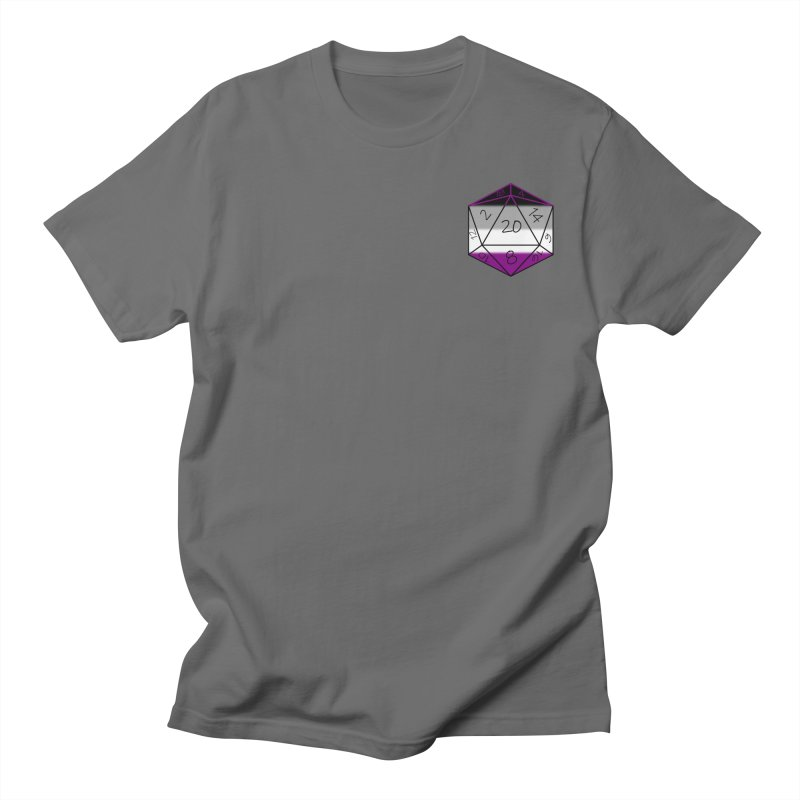 Tabletop Tiddies - ASEXUAL Unisex T-Shirt by TabletopTiddies's Merch