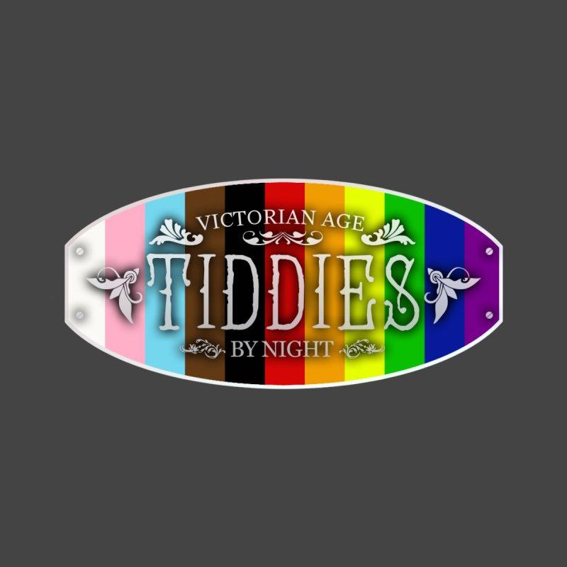 Tiddies By Night - PRIDE Accessories Neck Gaiter by TabletopTiddies's Merch