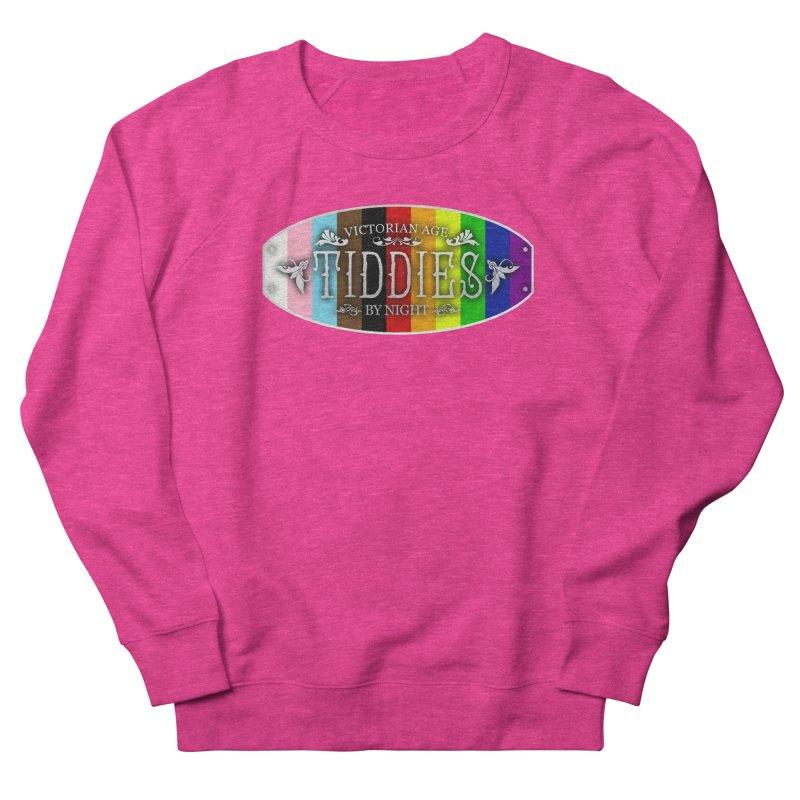 Tiddies By Night - PRIDE Feminine Sweatshirt by TabletopTiddies's Merch