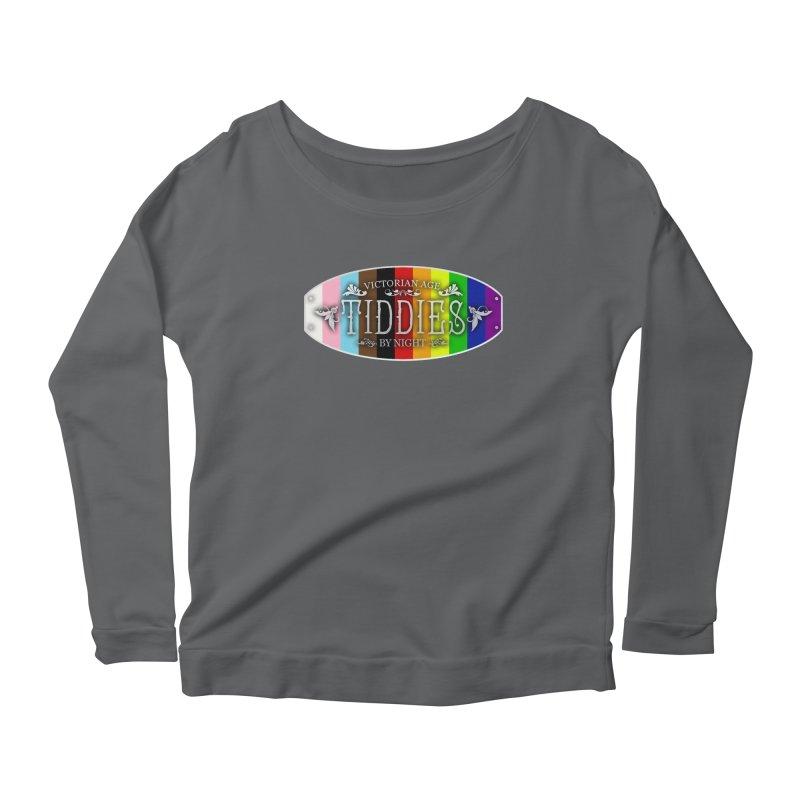 Tiddies By Night - PRIDE Feminine Longsleeve T-Shirt by TabletopTiddies's Merch