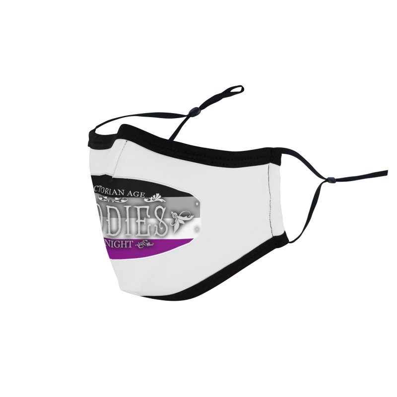 Tiddies By Night - ASEXUAL Accessories Face Mask by TabletopTiddies's Merch
