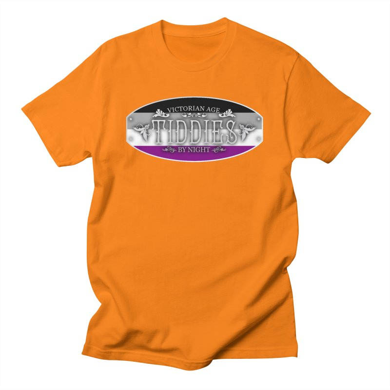 Tiddies By Night - ASEXUAL Unisex T-Shirt by TabletopTiddies's Merch