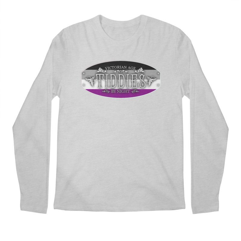 Tiddies By Night - ASEXUAL Unisex Longsleeve T-Shirt by TabletopTiddies's Merch