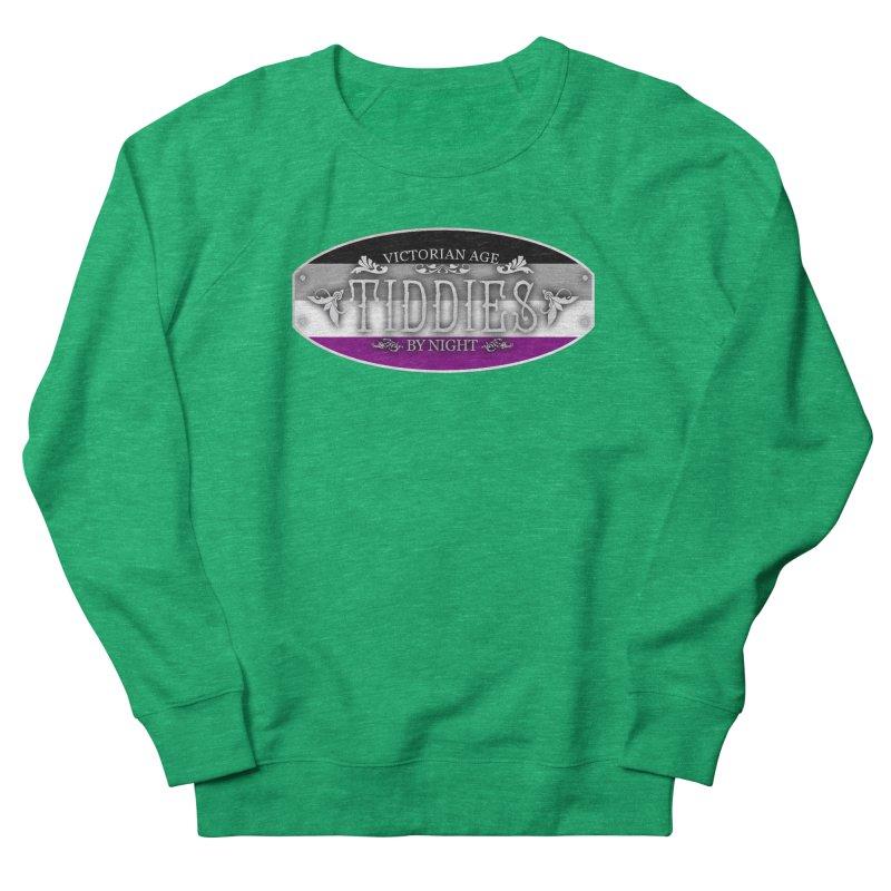 Tiddies By Night - ASEXUAL Feminine Sweatshirt by TabletopTiddies's Merch