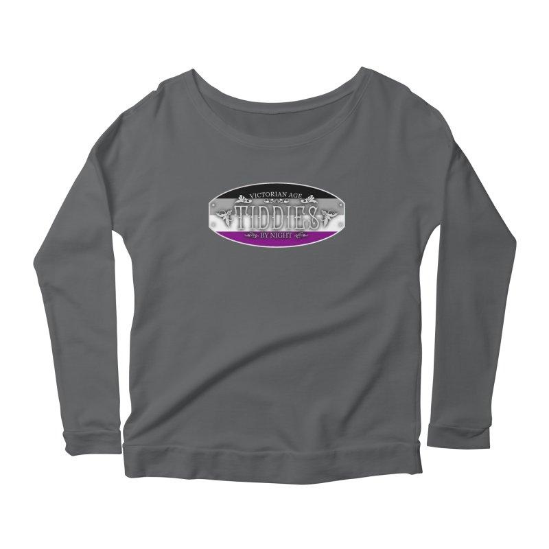 Tiddies By Night - ASEXUAL Feminine Longsleeve T-Shirt by TabletopTiddies's Merch