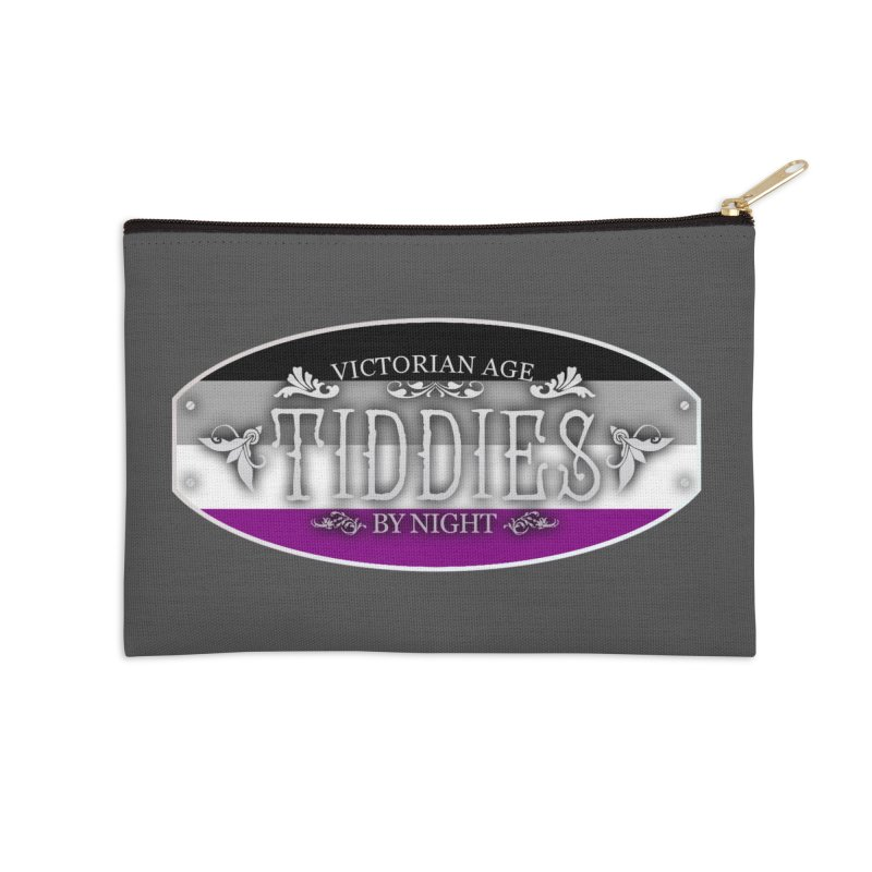 Tiddies By Night - ASEXUAL Accessories Zip Pouch by TabletopTiddies's Merch