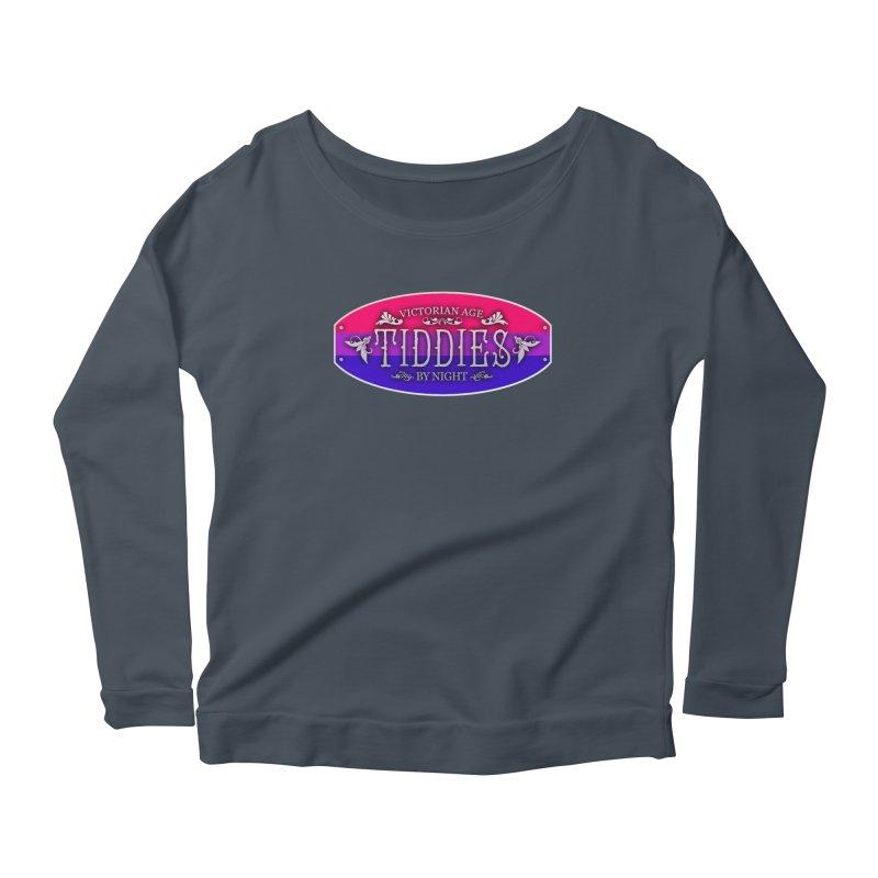 Tiddies By Night - BISEXUAL Feminine Longsleeve T-Shirt by TabletopTiddies's Merch