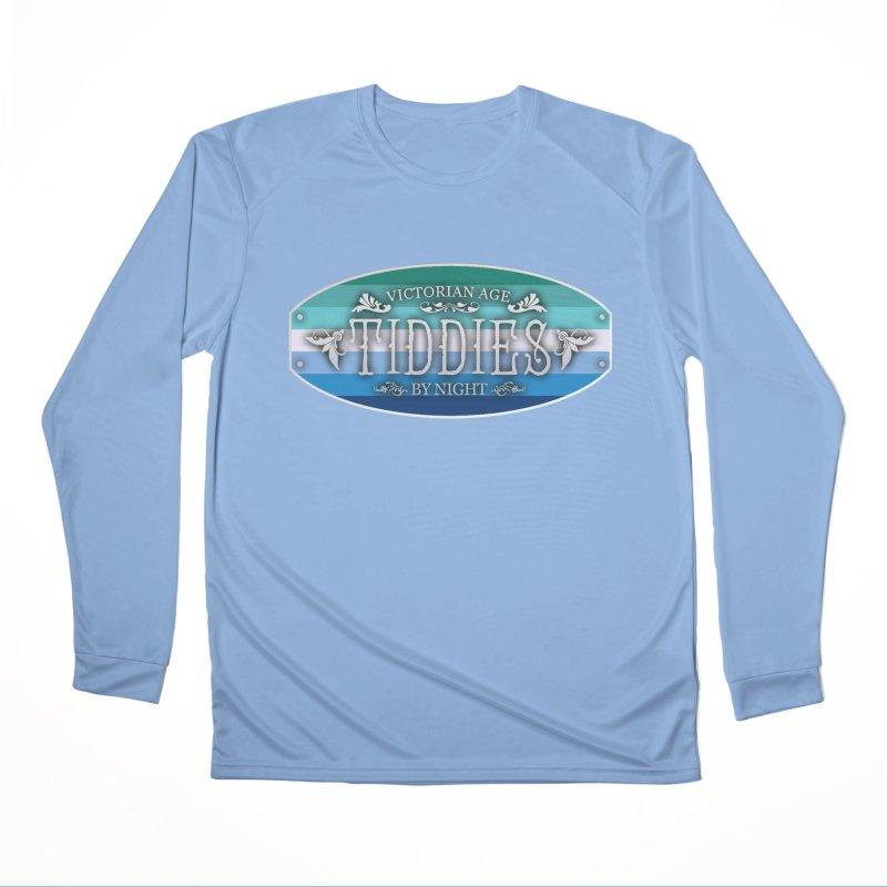 Tiddies By Night - GAY MEN Unisex Longsleeve T-Shirt by TabletopTiddies's Merch