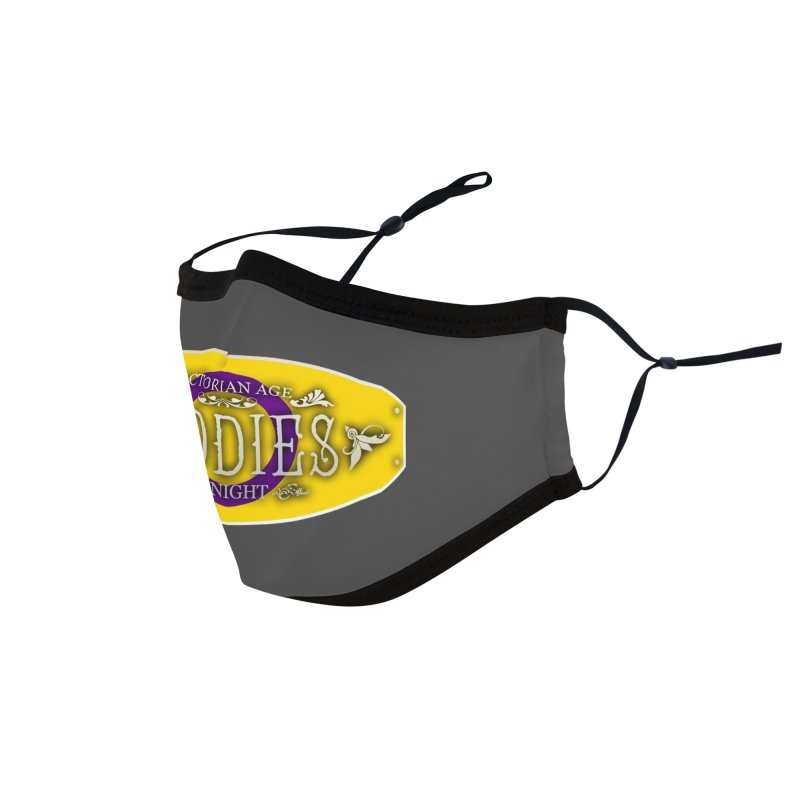 Tiddies By Night - INTERSEX Accessories Face Mask by TabletopTiddies's Merch