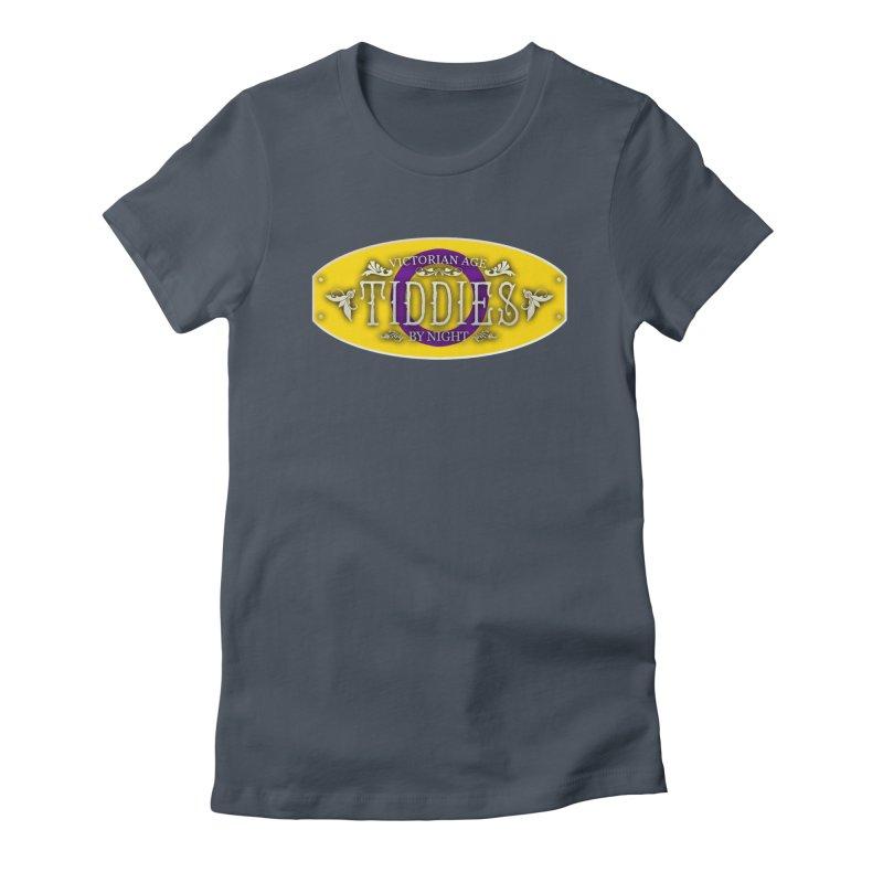 Tiddies By Night - INTERSEX Feminine T-Shirt by TabletopTiddies's Merch