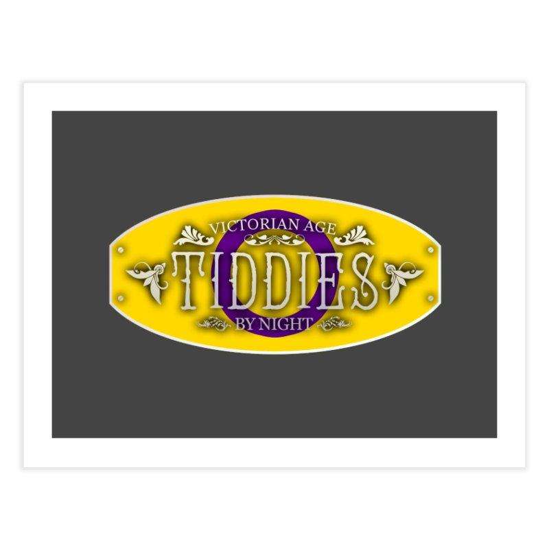 Tiddies By Night - INTERSEX Home Fine Art Print by TabletopTiddies's Merch