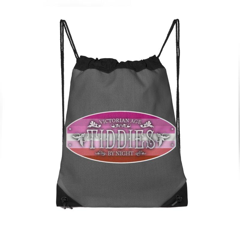 Tiddies By Night - LESBIAN Accessories Bag by TabletopTiddies's Merch