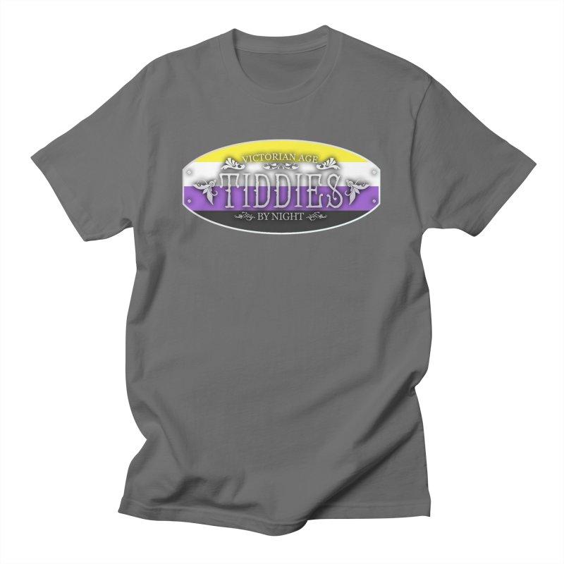 Tiddies By Night - NON-BINARY Unisex T-Shirt by TabletopTiddies's Merch