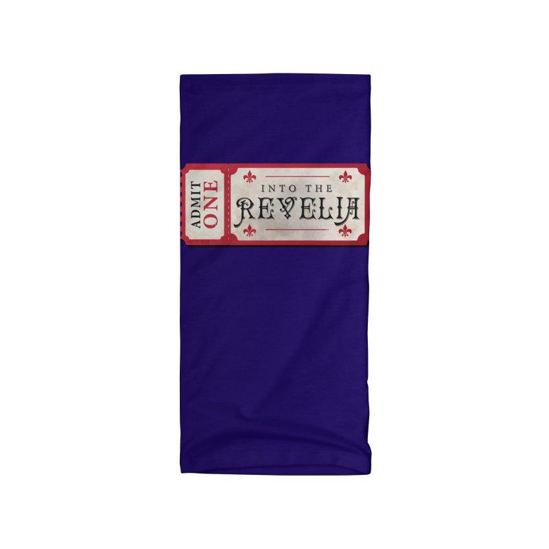 Into The Revelia Logo Accessories Neck Gaiter by TabletopTiddies's Merch