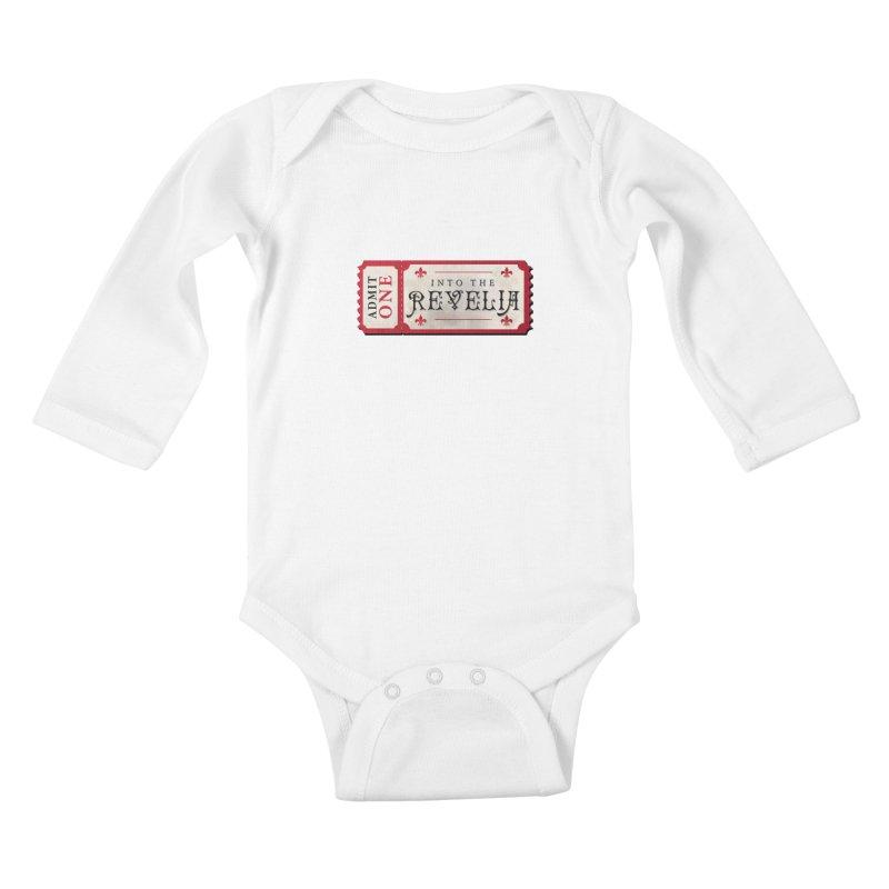 Into The Revelia Logo Kids Baby Longsleeve Bodysuit by TabletopTiddies's Merch