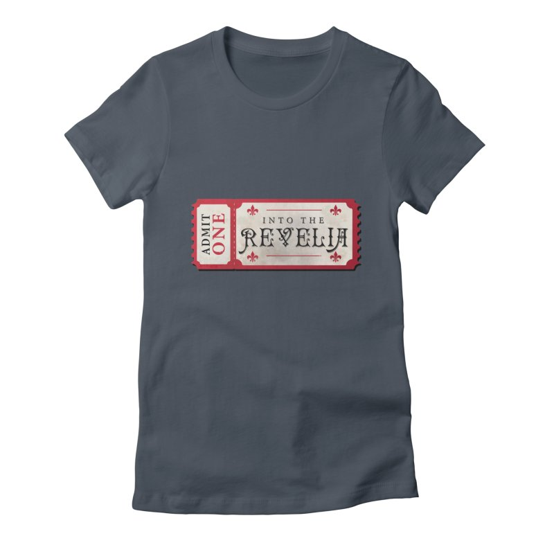 Into The Revelia Logo Feminine T-Shirt by TabletopTiddies's Merch