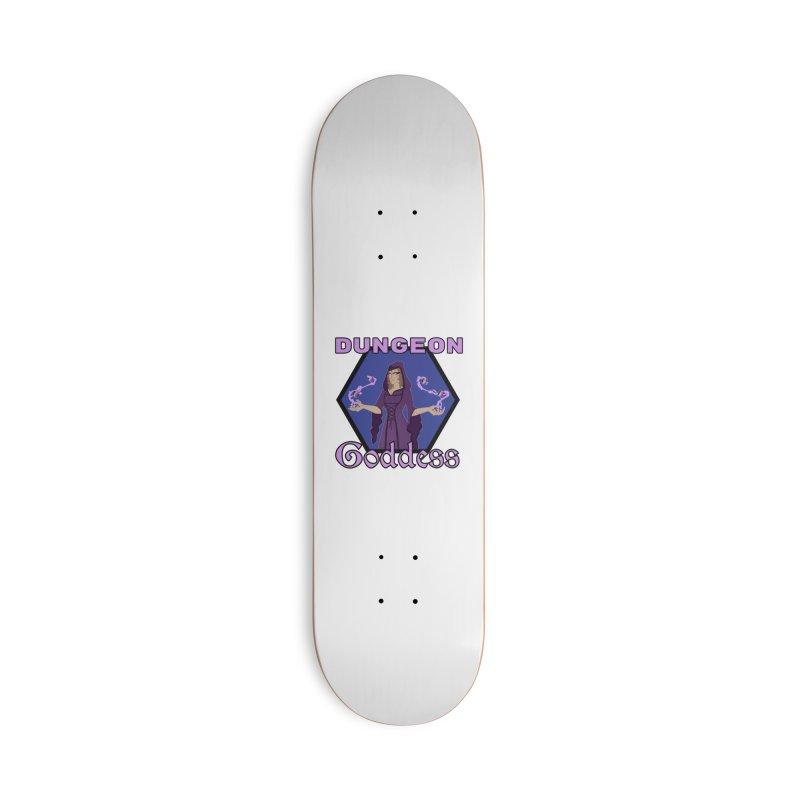Dungeon Goddess (Into the Revelia) Accessories Skateboard by TabletopTiddies's Merch