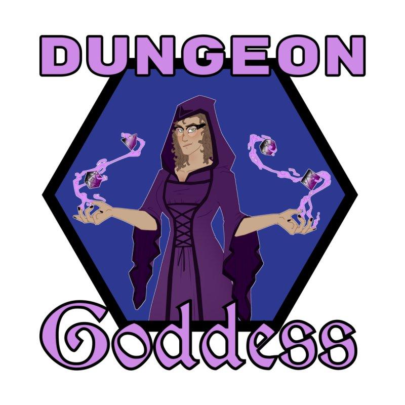 Dungeon Goddess (Into the Revelia) Accessories Neck Gaiter by TabletopTiddies's Merch