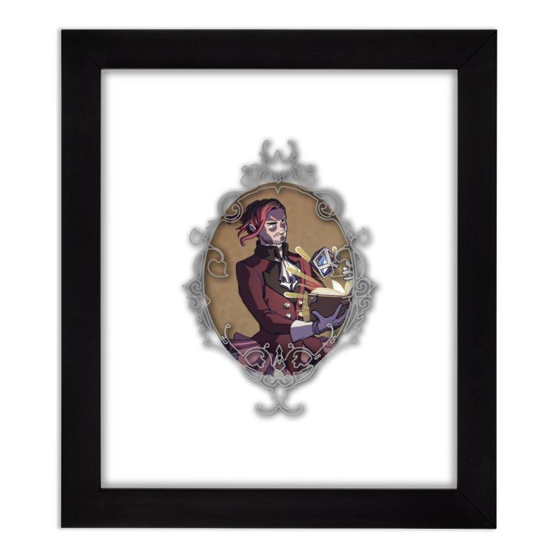 Storyteller (TBN) Home Framed Fine Art Print by TabletopTiddies's Merch