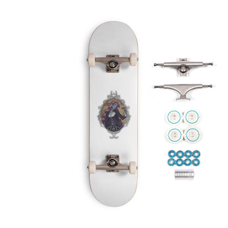 Evelyn Stormloft (TBN) Accessories Skateboard by TabletopTiddies's Merch