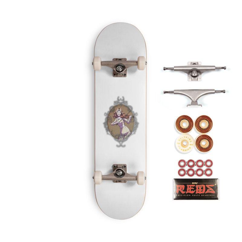Imogen White (TBN) Accessories Skateboard by TabletopTiddies's Merch