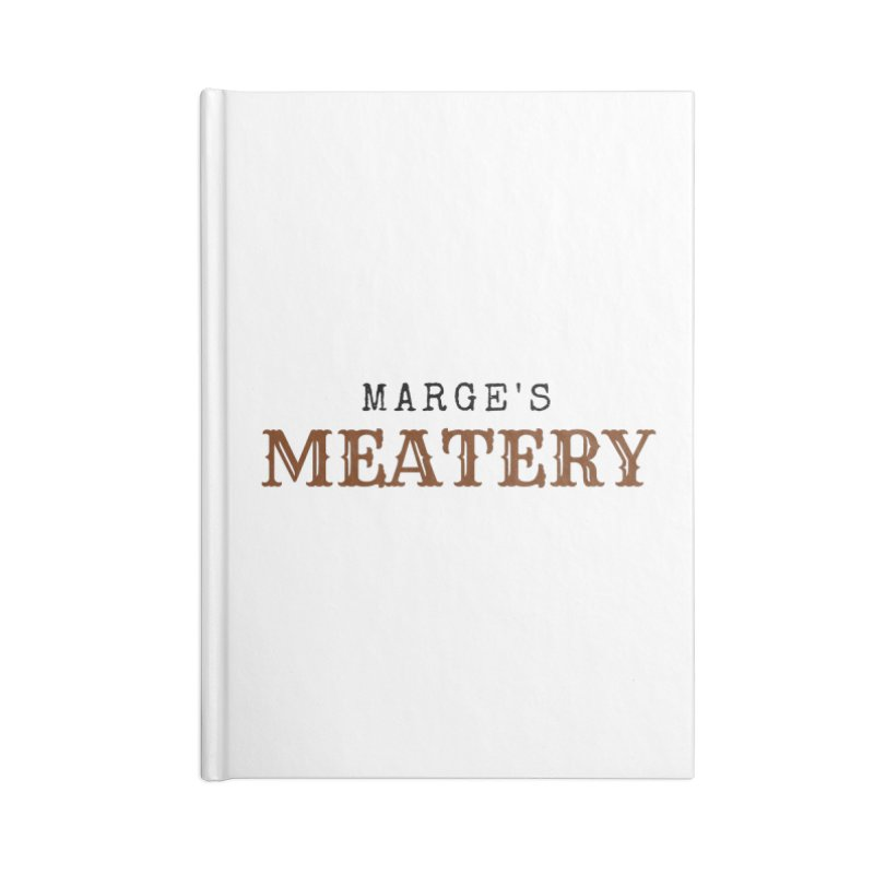 Marge's Meatery Accessories Notebook by TabletopTiddies's Merch