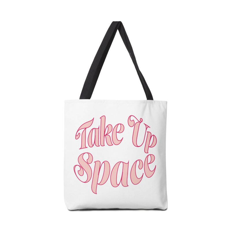 take up space Accessories Bag by Tall Hair Creative's Shop