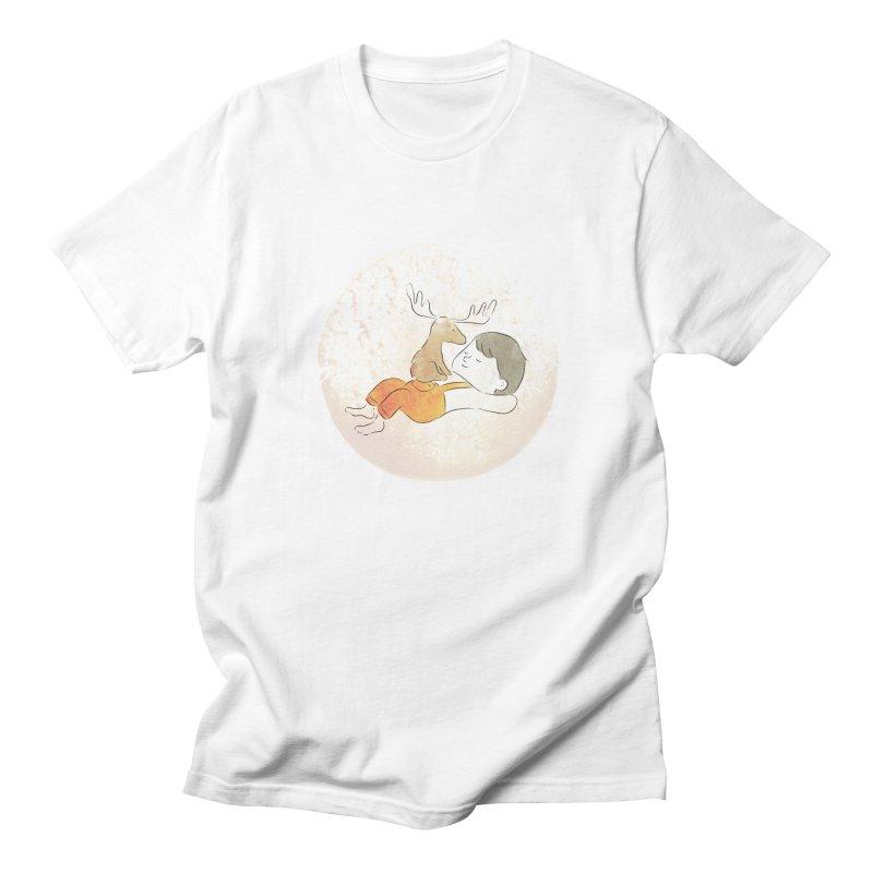 Chocolate Moose Men's T-Shirt by Habuki Artist Shop