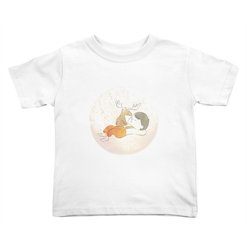 Chocolate Moose Kids Toddler T-Shirt by Habuki Artist Shop