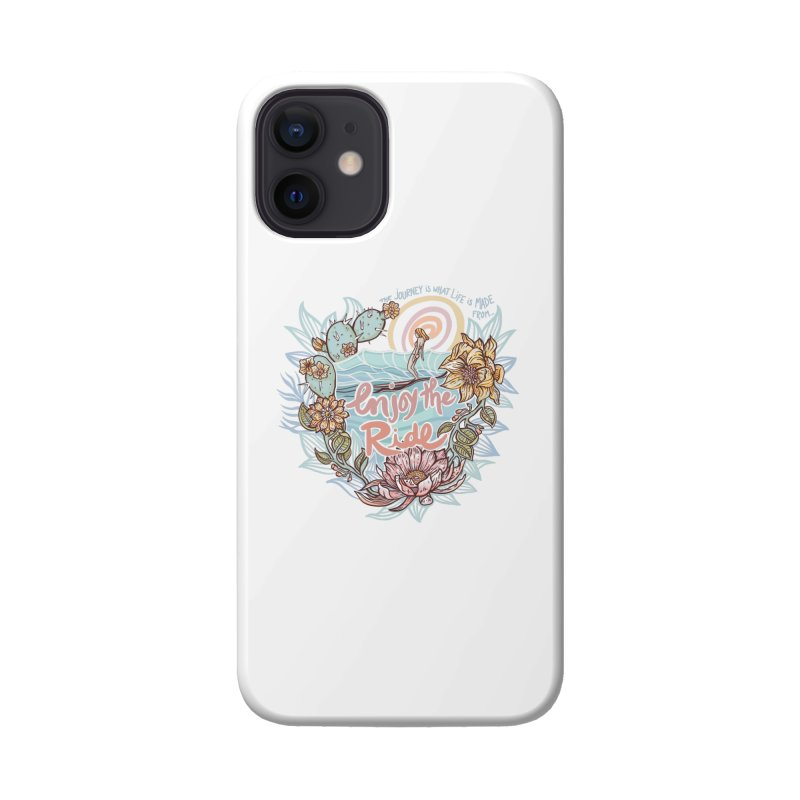 Enjoy the Ride Accessories Phone Case by Chapman at Sea // surf art by Tash Chapman