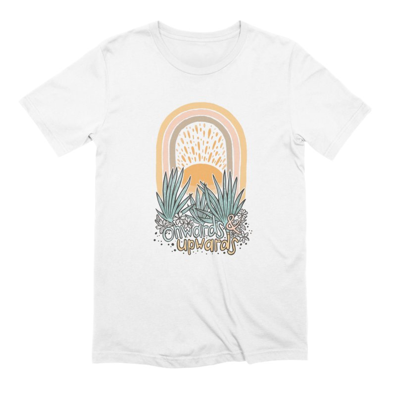 Up We Go Men's T-Shirt by Chapman at Sea // surf art by Tash Chapman