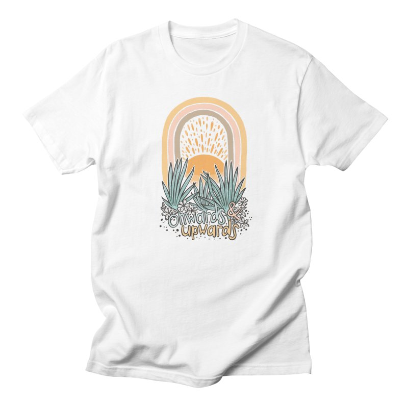 Up We Go Men's T-Shirt by Chapman at Sea // surf art by Tash Chapman