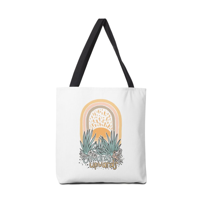Up We Go Accessories Tote Bag Bag by Chapman at Sea // surf art by Tash Chapman