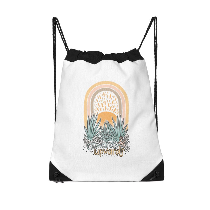 Up We Go Accessories Bag by Chapman at Sea // surf art by Tash Chapman