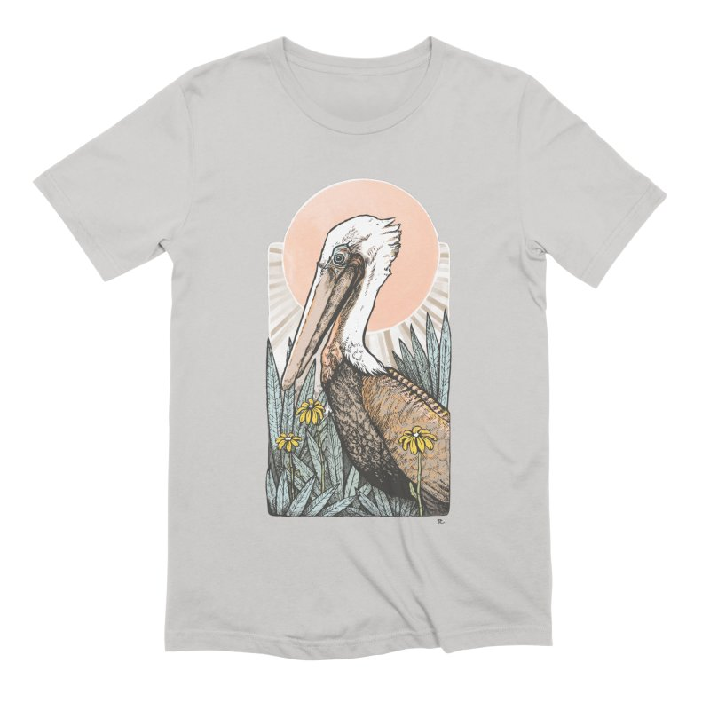 Gerald Among the Flowers Men's T-Shirt by Chapman at Sea // surf art by Tash Chapman