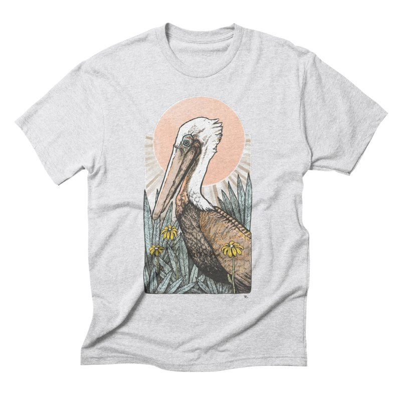 Gerald Among the Flowers Men's Triblend T-Shirt by Chapman at Sea // surf art by Tash Chapman