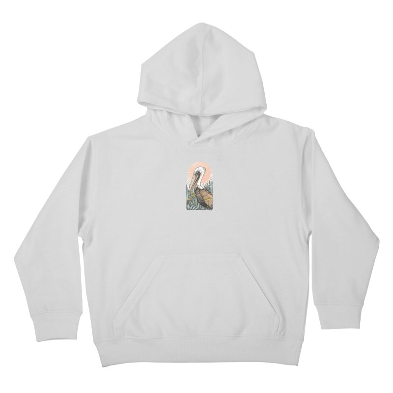 Gerald Among the Flowers Kids Pullover Hoody by Chapman at Sea // surf art by Tash Chapman