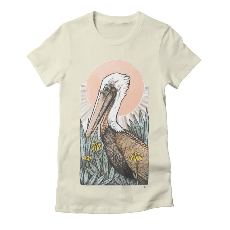 Gerald Among the Flowers Women's T-Shirt by Chapman at Sea // surf art by Tash Chapman